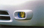 Fog lamp set (multiple coating)
