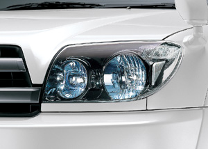 Make-up headlight