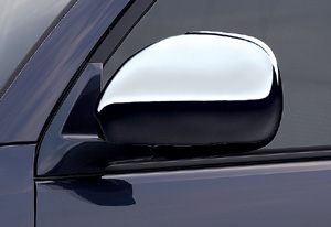 Plating door mirror cover
