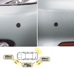 Corner sensor (front left and right) (rear left and right)