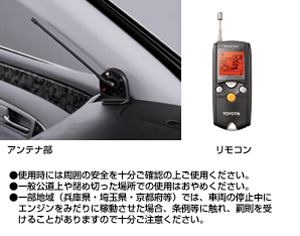 Remote start (liquid crystal picture type multiplex imobi) remote start itself (liquid crystal picture type multiplex imobi) remote start F/K (liquid crystal picture type multiplex imobi)