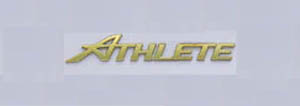 Gold emblem (grademark (for rear) &lt\;ATHLETE&gt\;)