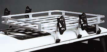 Aluminum rack attachment (skiing rack attachment)