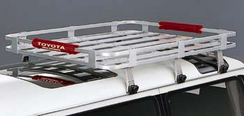 Aluminum rack attachment