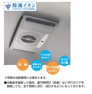 Disinfectant ion air cleaner (ceiling built-in type (semi automatic))