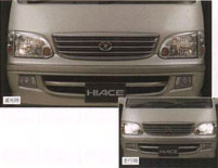 Headlight darkening system
