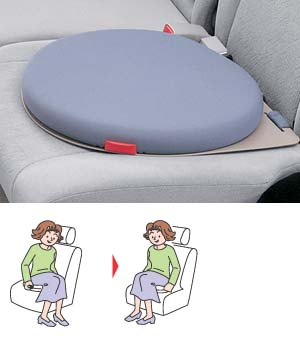 Turn cushion