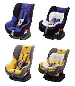 Child seat (G−Child plus (blue yellow))