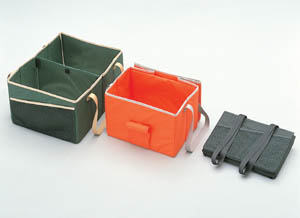 Convenience bag (black/ivy green/sunrise orange)