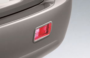 Rear fog lamp/rear fog lamp (switch/light body)
