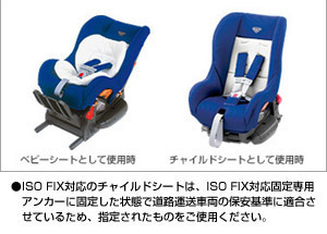 Seat base (G−Child ISO base (tezataipu)/child seat (G−Child ISO tether))