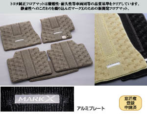 Floor mat (royal)