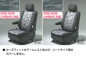 Full seat cover (sport type [loose fitting] [just fitting])