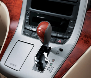 Wood pitch shift knob (Chaki eye)