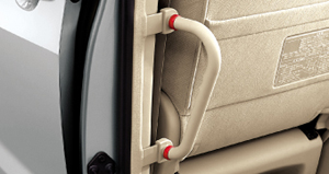 Rear assist grip (suicide seat side) (driver's seat side)