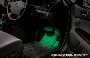 Foot lamp (driver's seat + suicide seat)