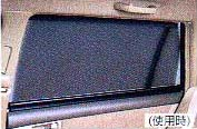 Roll blind rear doors roll shade