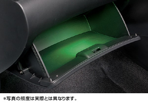 Glove compartment illumination