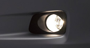 Fog lamp (light body) (switch)