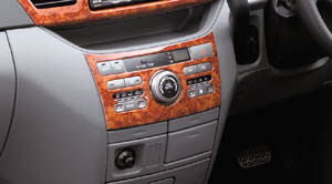 Wood pitch panel (Chaki eye) (for heater control)