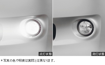 Fog lamp fog lamp (light body) (switch)