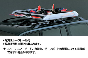 All season carrier (roof rail type) surishisutemuratsuku (all season carrier)