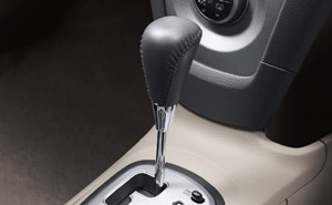 Leather winding shift knob