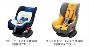 Child seat (G−Child plus (blue/yellow))