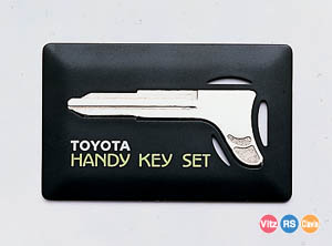 Handy key set (containing key cutting charge)