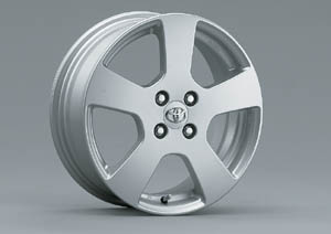 Aluminum wheel (standard [16 inches])