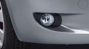 Fog lamp (built-in type)
