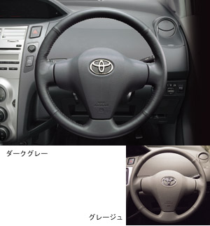Leather volume steering wheel (type 1)