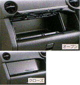 Instrument panel box lid