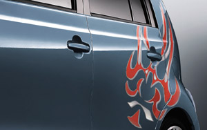 Body graphics (side LH)