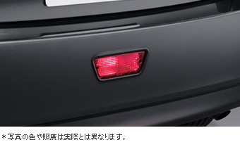 Rear fog lamp (light body) (switch)