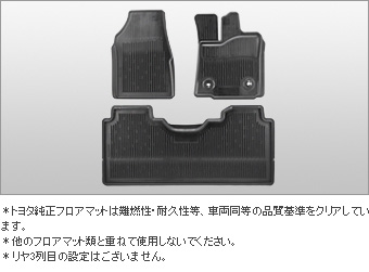 Rubber mat (snow type) (front &amp\; rear 2nd line set) rubber mat (snow type) (front set) (rear 2nd line)