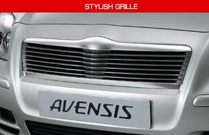 Stylish grill