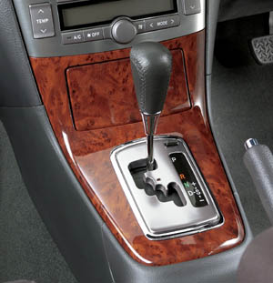 Wood pitch panel (for center console)