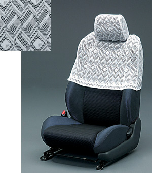 Half seat cover (deluxe type)