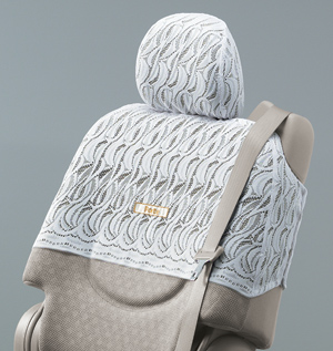 Half seat cover (luxury type)