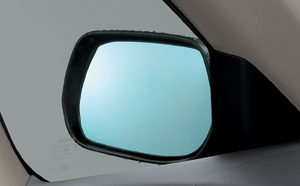 Outer mirror (lane clearing blue mirror)