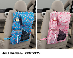 Mother pocket (blue) (pink)