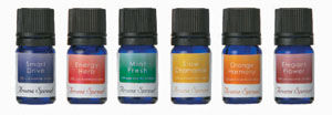 Aroma spread essential oil (smart drive/energy herb/mint fresh/slow duck meal/orange harmony/elegant flower)