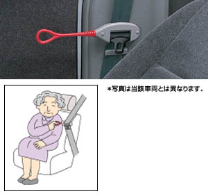 Seat belt support