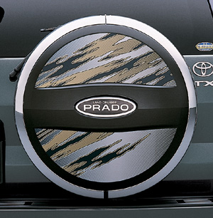 Spare tire cover sticker (type B)