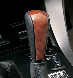 Shifter knob (wood pitch)