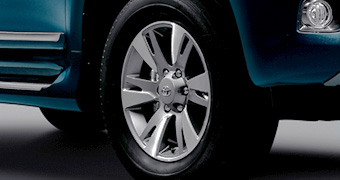 Aluminum wheel (18 inches)