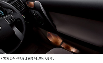 Door handle &amp\; pocket illuminational set/door handle &amp\; pocket illumination (front &amp\; rear)/primer (door handle &amp\; for pocket illumination)