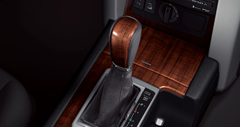Wood pitch shift knob