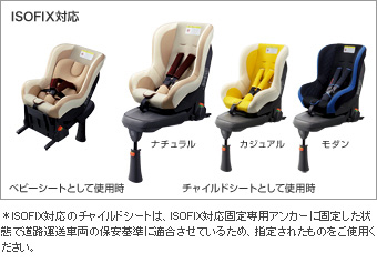 Child seat (NEO G−CHILD ISO leg CASUAL/NATURAL/MODERN)